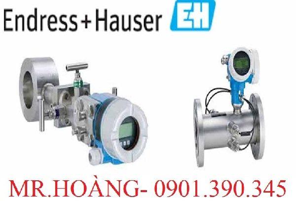 Cảm biến đo lưu lượng dạng siêu âm Endress Hauser